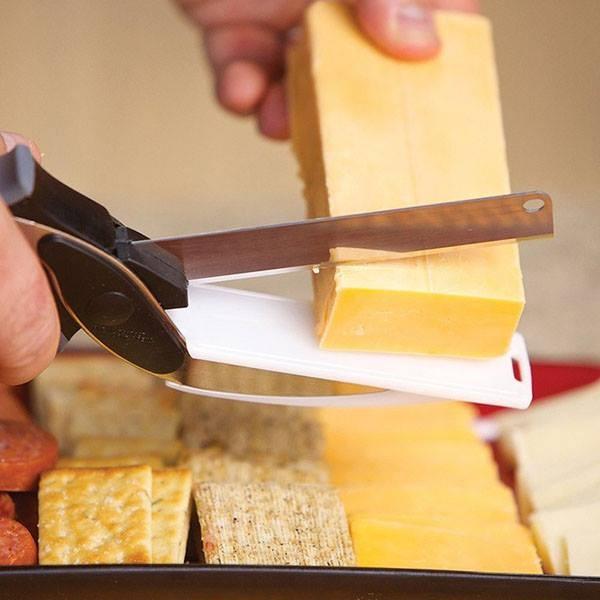 Kéo cắt rau thịt siêu sắc đa năng