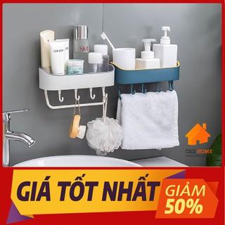 [Hàng loại 1] Kệ Dán Tường Đựng Đồ Phòng Tắm, Nhà Bếp Cao Cấp Tiện Dụng Siêu Chịu Lực