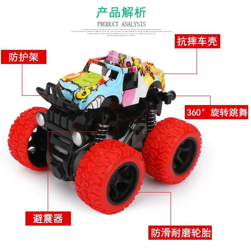 Mô hình đồ chơi Xe off-road Xe mô phỏng Leo xe 360 độ Xoay
