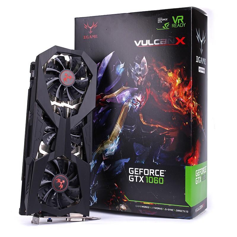 Card đồ họa Colorful GTX 1060 Vulcan X OC 6GB - 3315458 , 826304855 , 322_826304855 , 9100000 , Card-do-hoa-Colorful-GTX-1060-Vulcan-X-OC-6GB-322_826304855 , shopee.vn , Card đồ họa Colorful GTX 1060 Vulcan X OC 6GB