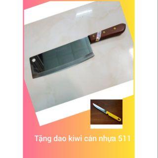 DAO CHẶT CÁN GỖ THÁI LAN KIWI 812 tặng 1 dao kiwi 511