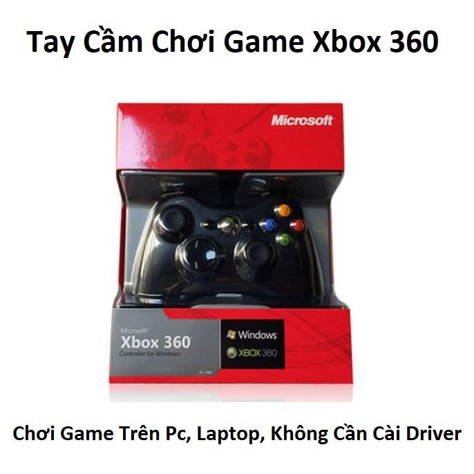 Tay Cầm Chơi Game Xbox 360 Usb – Tay Cầm Chơi Game PC, LapTop, Cắm Cổng USB