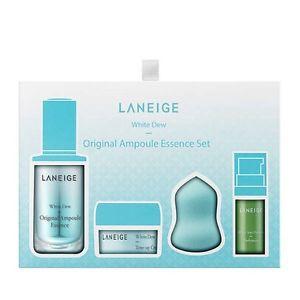 Bộ Dưỡng Trắng Da Laneige White Dew Original Ampoule Essence Set