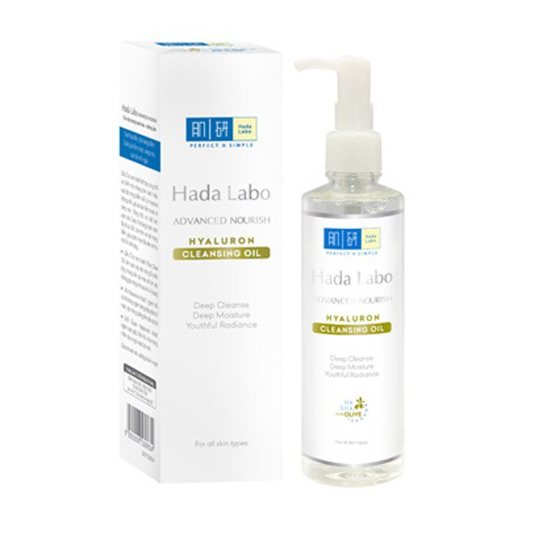 Hada Labo Advanced Nourish Hyaluron Cleansing Oil – Dầu Tẩy Trang Hada Labo Advanced Nourish