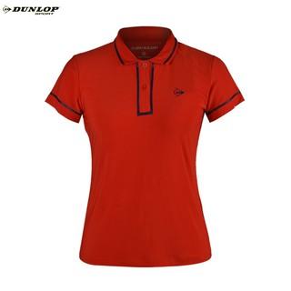 Áo Tennis nữ Dunlop - DATES9100-2C-RD (Đỏ) Hàng chính hãng Thương hiệu từ Anh Quốc thumbnail