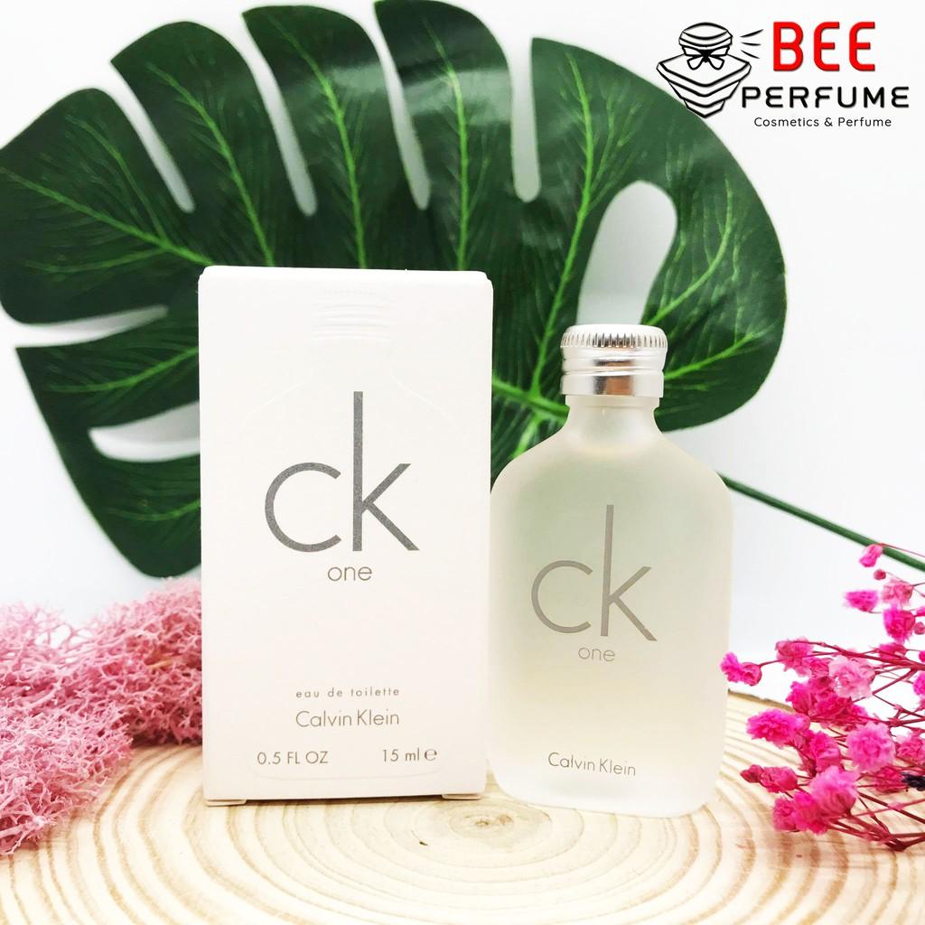 Nước hoa mini chính hãng Calvin Klein CK One 15ml CKone