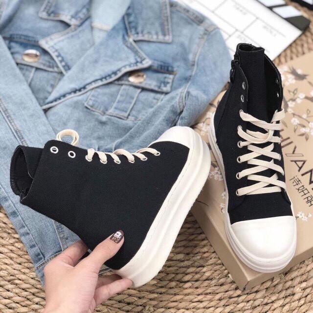 (⚡bản chuẩn 11⚡️ful bok+tất+quà⚡️)Giày thể thao nam nữ Ro cổ cao,thấp đế thơm+tăng chiều cao