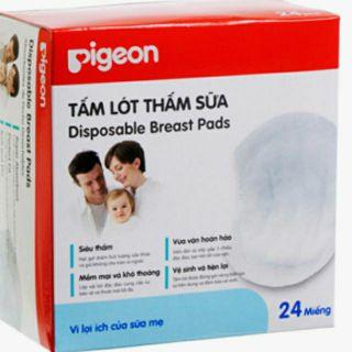 Lót thấm sữa pigeon ( hộp 24 miếng ) thumbnail