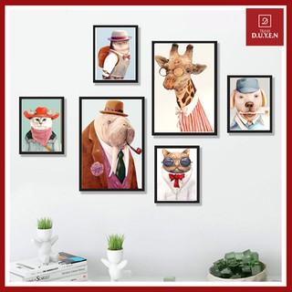 Set 06 tranh phòng ngủ siêu xinh cho bé, có bảo hành, tặng đinh đóng tường