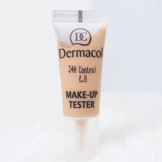 Kem Nền Mẫu Tester Dermacol 24h Control Make-up xóa mờ khuyết điểm 7ml