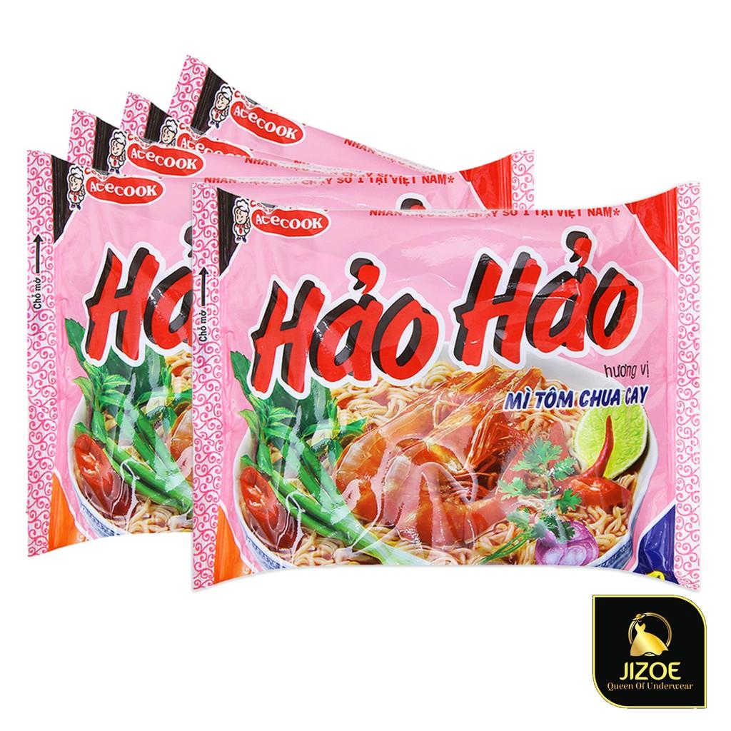 Mì tôm chua cay Hảo Hảo gói 75g siêu ngon công nghệ Nhật Bản chất lượng cao giá rẻ nhất thị trường JIZOE MYT01