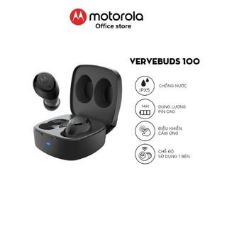 Tai nghe bluetooth Motorola không dây - VerveBuds100- Thời lượng pin 14h- Hỗ trợ đàm thoại thông minh