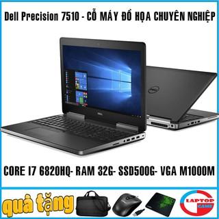 Yêu ThíchDell Precision 7510 - máy trạm đồ họa cao cấp mỏng nhẹ cao cấp, laptop cũ chơi game đồ họa