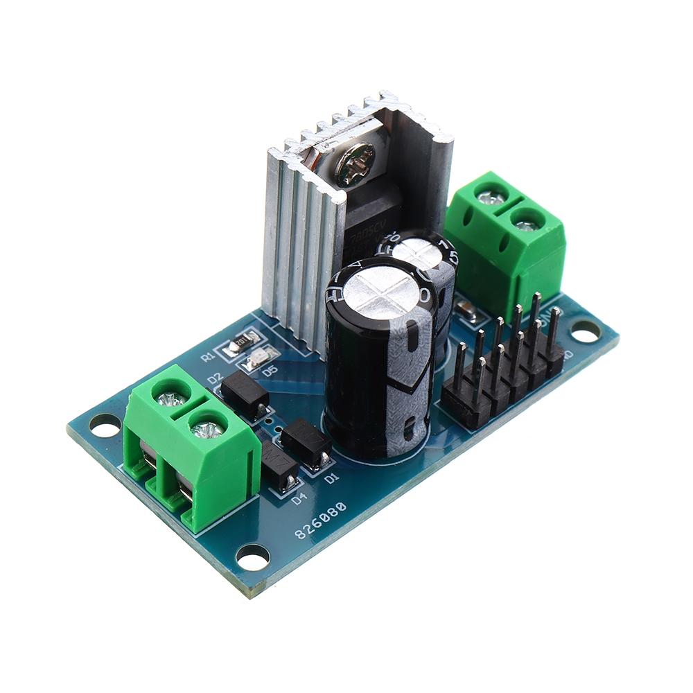 Mạch điều khiển điện áp LM7805 DC/AC 8-24V sang 5V chất lượng cao