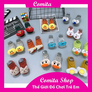 Tất vớ 4D hình thú co giãn mềm mại chống trượt bảo vệ an toàn cho bé COMITA. thumbnail