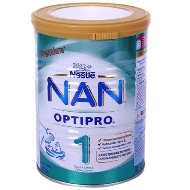 Sữa Nan số 1 Nga 400gr