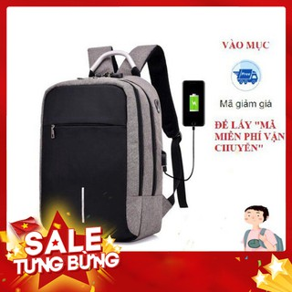 (FREE SHIP 50K) Balo Thời Trang Nam Nữ Laptop Chống Trộm Mã Khóa Phản Quang – Hàng nhập khẩu