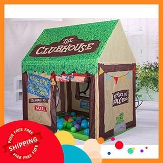 Lều vải 2 cửa THE CLUB HOUSE, màu chocolate