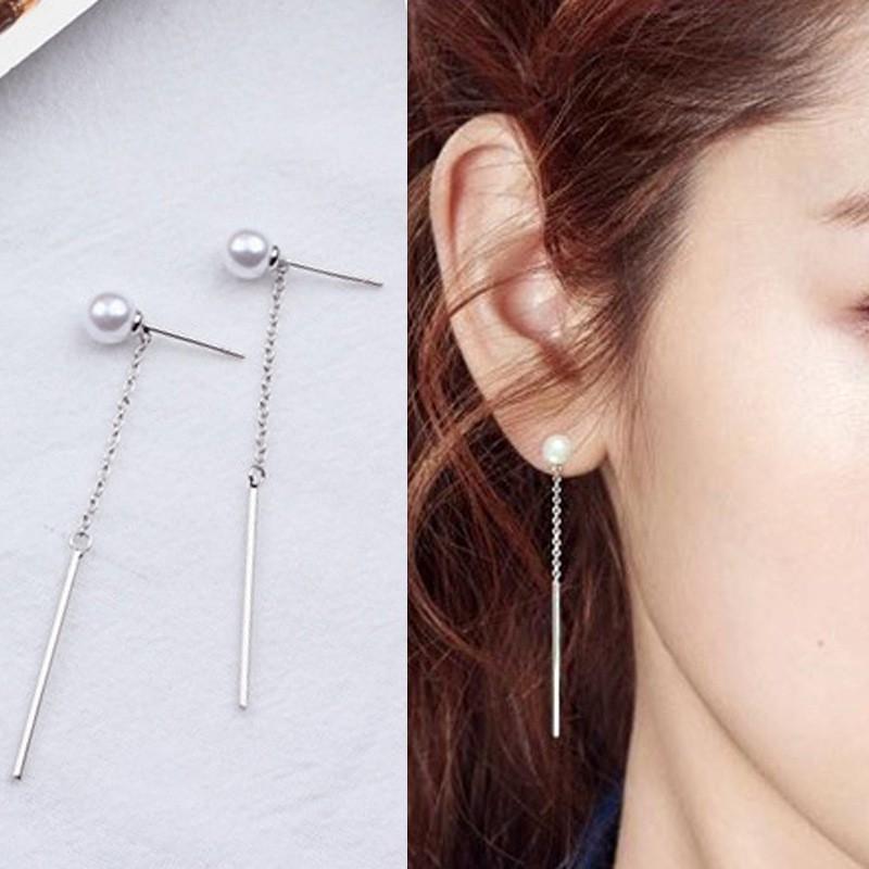 Hoa tai nữ bạc 925 thời trang hàn quốc cực xinh