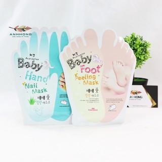 Mặt Nạ Ủ Tay Và Chân Baby Hand And Baby Foot Nail Mask thumbnail