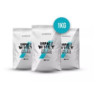 WHEY PROTEIN – IMPACT WHEY ISOLATE – 2.2lbs (1kg) – Bổ sung protein tăng cơ giảm mỡ – Từ Châu Âu