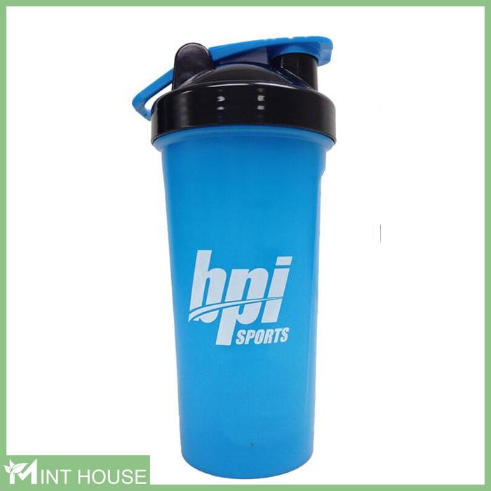 Bình đựng nước tập gym, bình lắc thể thao Shaker Bottle BPI