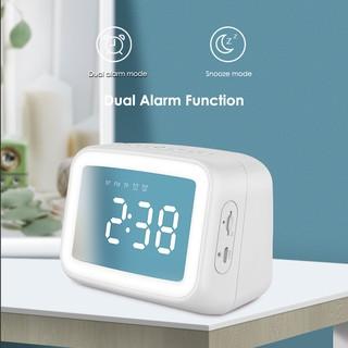 [Wedding] Wireless Bluetooth 5.0 LED Display Clock FM TF Music Player thumbnail