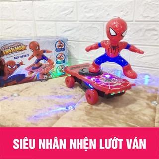 Đồ chơi điều khiển người nhện lướt ván thông minh cho bé