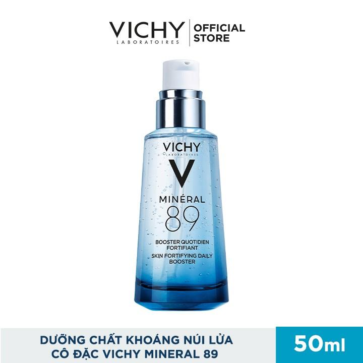 [Mã FMCGMALL giảm 8% đơn 250K] Bộ serum khoáng phục hồi chuyên sâu và làm sáng da Vichy Mineral 89