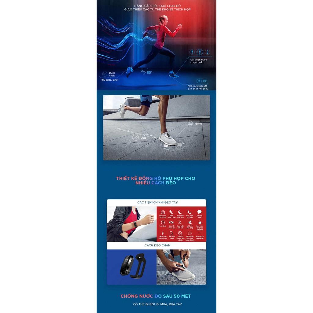 Vòng Đeo Tay Thông Minh Huawei Honor Band 4 Running - Hàng chính hãng