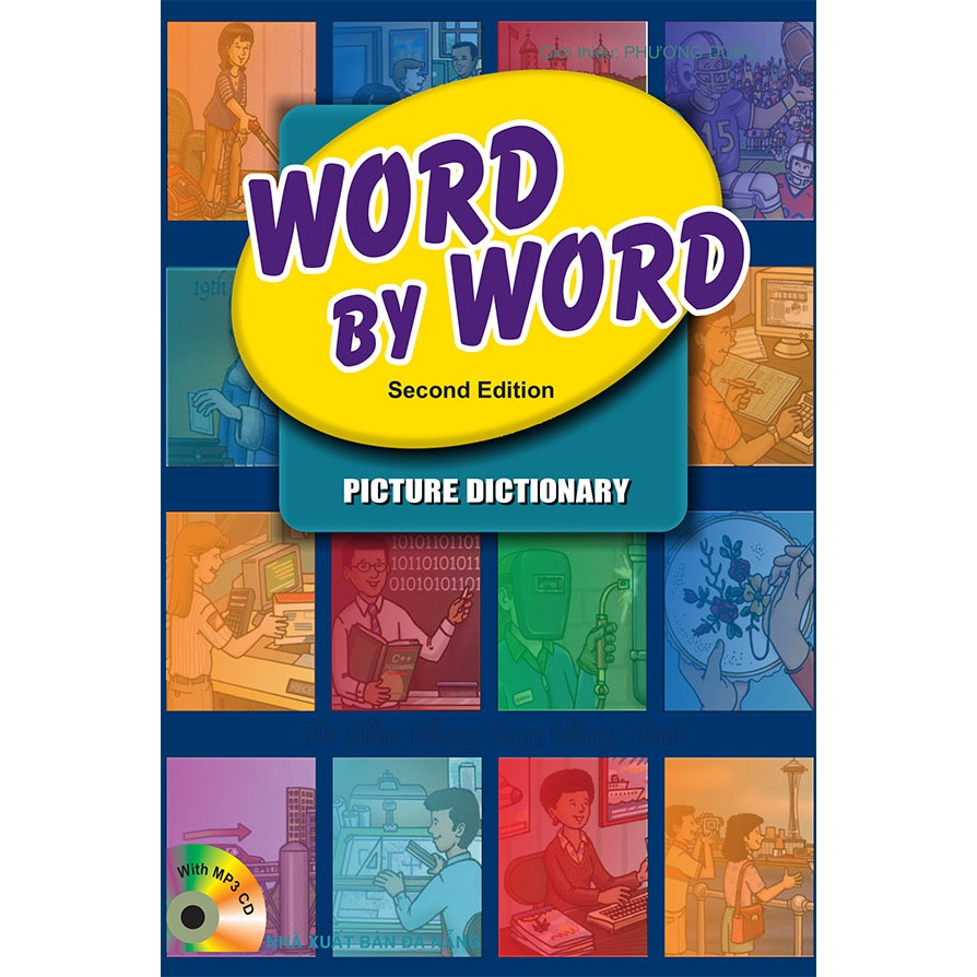 Word by Word Picture Dictionary - Vietnamese/English - 2nd edition (kèm CD)
