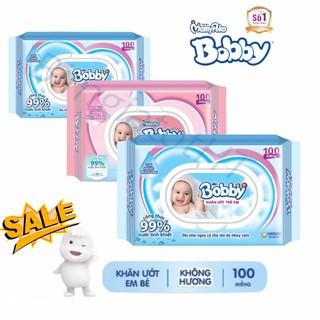 [CHÍNH HÃNG] Combo 5 gói khăn ướt Bobby – 500 miếng (full VAT)
