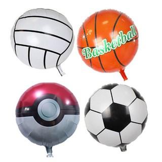 ❤❤ 45cm Ball Shape Football Basketball Volleyball Inflatable Ballon Kids Gift
