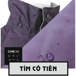 Áo mưa bộ chống thấm cao cấp Nhật Bản – Màu Tím