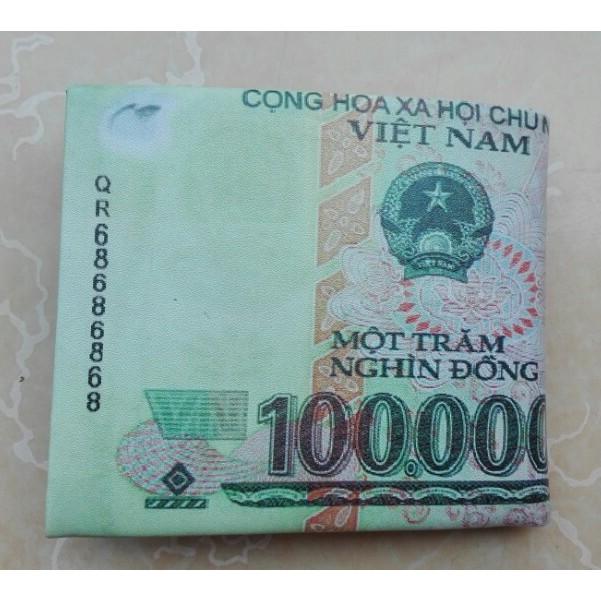 Ví da Nam hình tờ tiền 100K - 3421564 , 618896592 , 322_618896592 , 80000 , Vi-da-Nam-hinh-to-tien-100K-322_618896592 , shopee.vn , Ví da Nam hình tờ tiền 100K