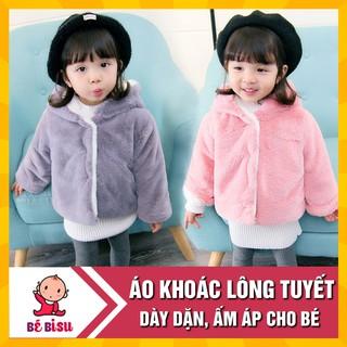 Yêu ThíchÁo khoác lông 2 lớp (6 tháng-3 tuổi) cao cấp cho bé thu đông có mũ