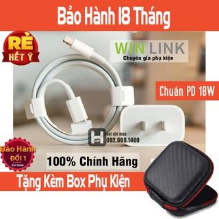 Bộ Sạc 18w Chuẩn PD Dành Cho iPhone/iPad Sạc PD 18W USB-C và Cáp Mophie USB-C to Lightning 1m