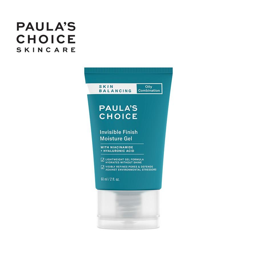 Gel dưỡng ẩm ban đêm kiểm soát dầu Paula's Choice Skin Balancing Invisible Finish Moisture Gel 60ml 3400