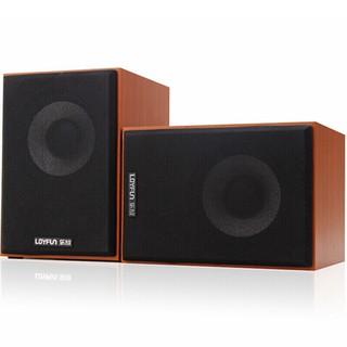 [ Giá gốc ] Loa vi tính Loyfun M30 Loa vỏ gỗ Âm thanh cực chất BH 6 T