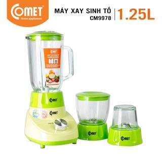 Máy xay sinh tố 3 cối 1.25L COMET - CM9978 thumbnail