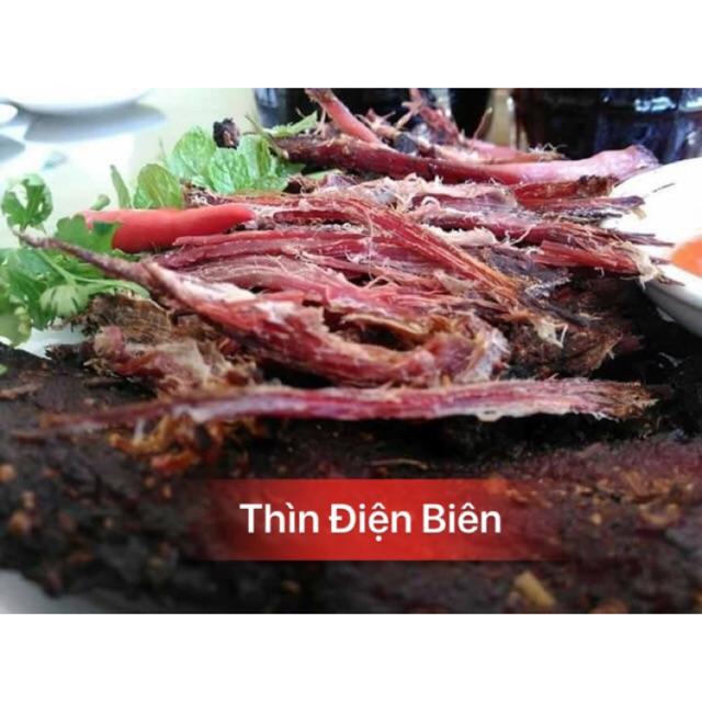 Thịt trâu gác bếp Chuẩn ngon (TẶNG KÈM CHẲM CHÉO CHẤM) Thịt trâu gác bếp Chuẩn ngon
