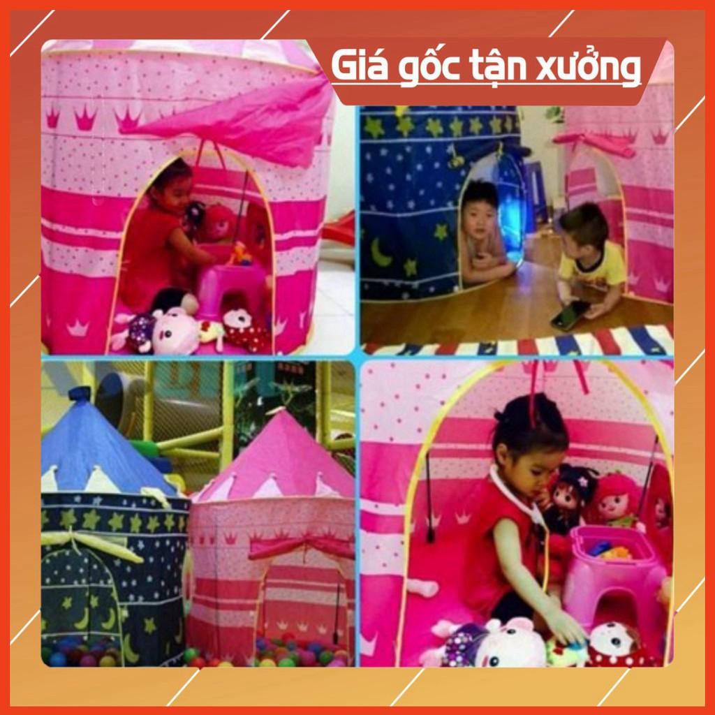 Lều công chúa, hoàng tử đồ chơi cho bé 2019
