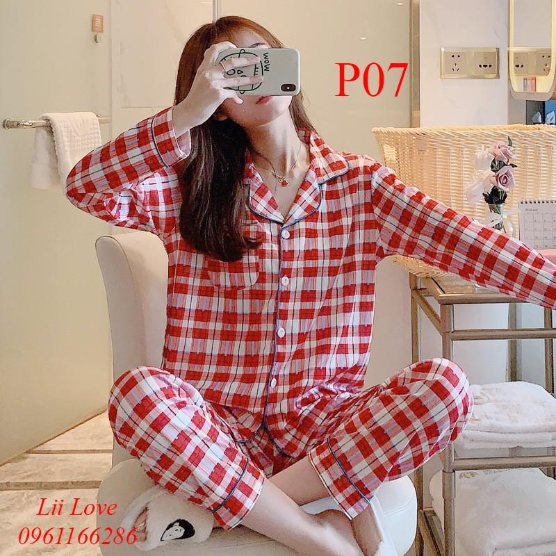 Bộ Pijama Dài Tay - Sợi Tơ Sữa Cao Cấp Mềm, Mịn - Phong Cách Hàn Quốc Năm 2020