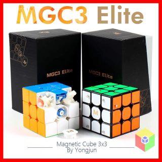 Rubik 3×3 YJ MGC 3 Elite – Siêu Phẩm 2019 Có Sẵn Nam Châm, Thay Đổi Được Lực Hút Nam Châm