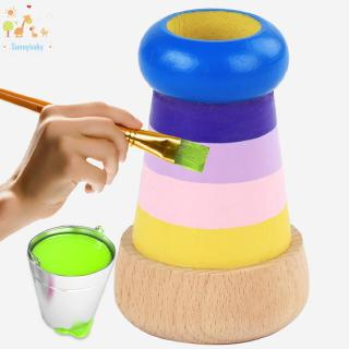 Baby ♡ Baby Kids Wooden Magic Kaleidoscope Educational Learning Puzzle Toys Gifts