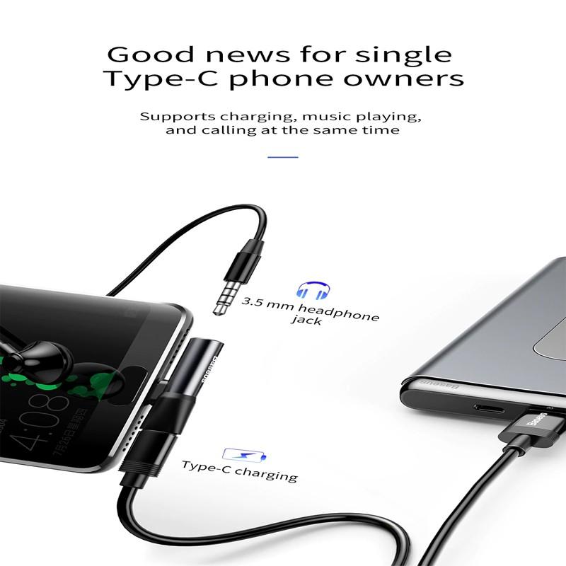 Type-C Audio Adapter Type-C+3.5 Adapter Mini Converter