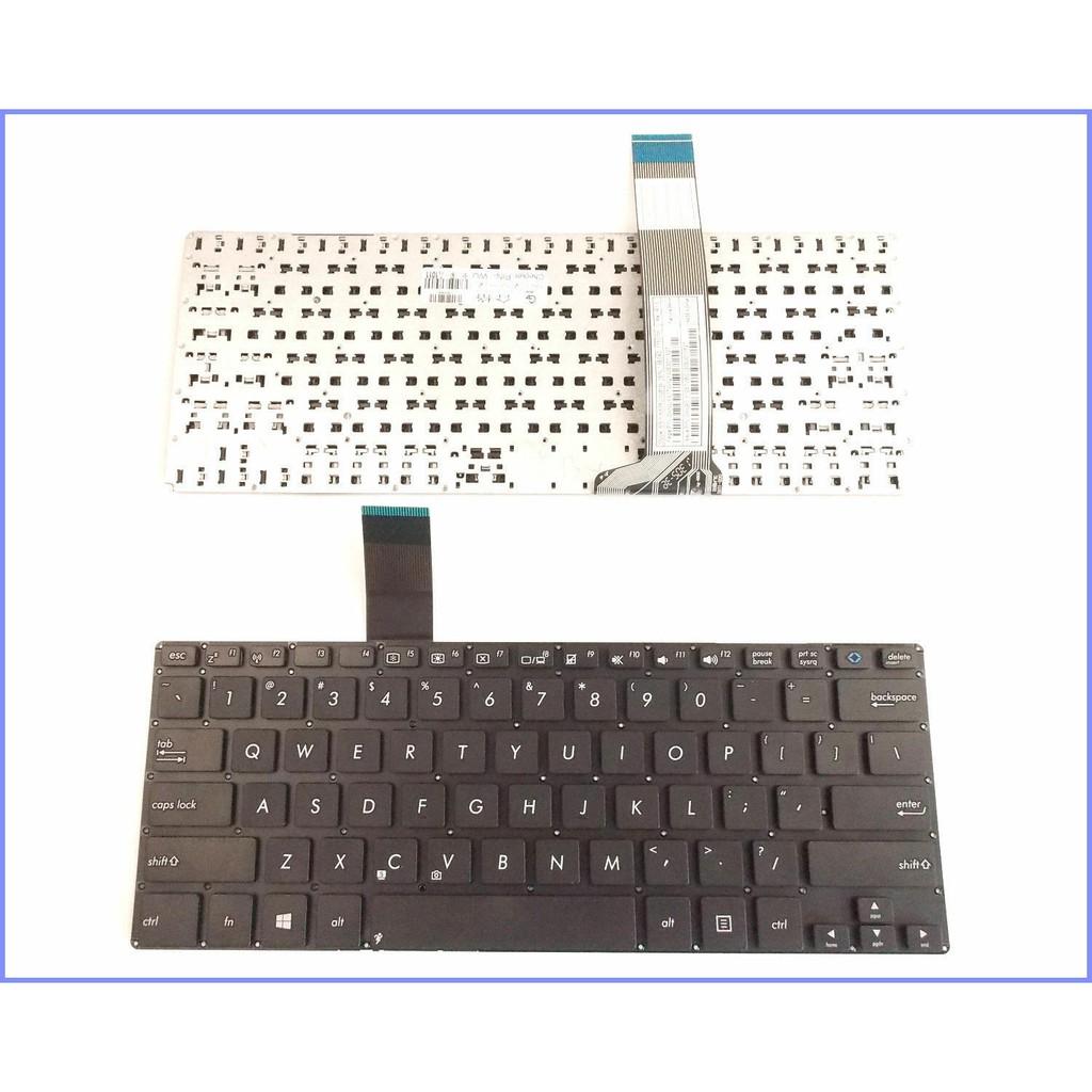 BÀN PHÍM ASUS X301 X301A Vivobook S300 S300CA V300CA Q301 Q301LA ĐEN