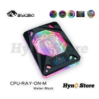 Block CPU AMD Bykski kèm đồng hồ hiển thị nhiệt độ màu Thiết kế mới Tản nhiệt nước custom - Hyno Store thumbnail