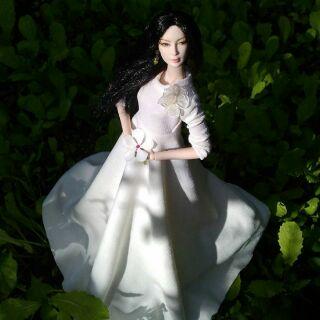 Đầm búp bê barbie