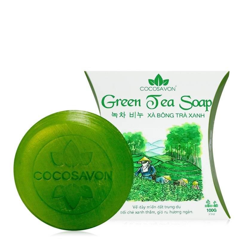 Xà bông tắm trà xanh Cocosavon 100gr